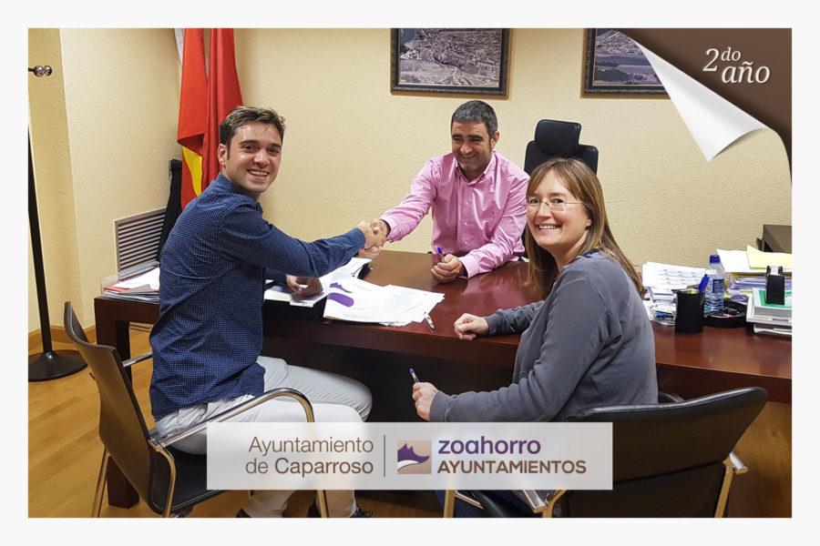 El ayuntamiento de Caparroso renueva por segundo año con nosotros