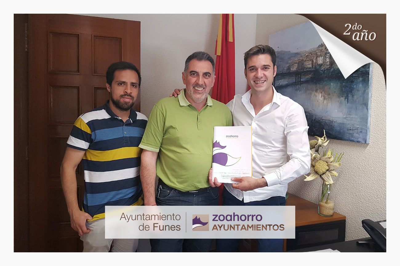 El Ayuntamiento de Funes por segundo año con nosotros