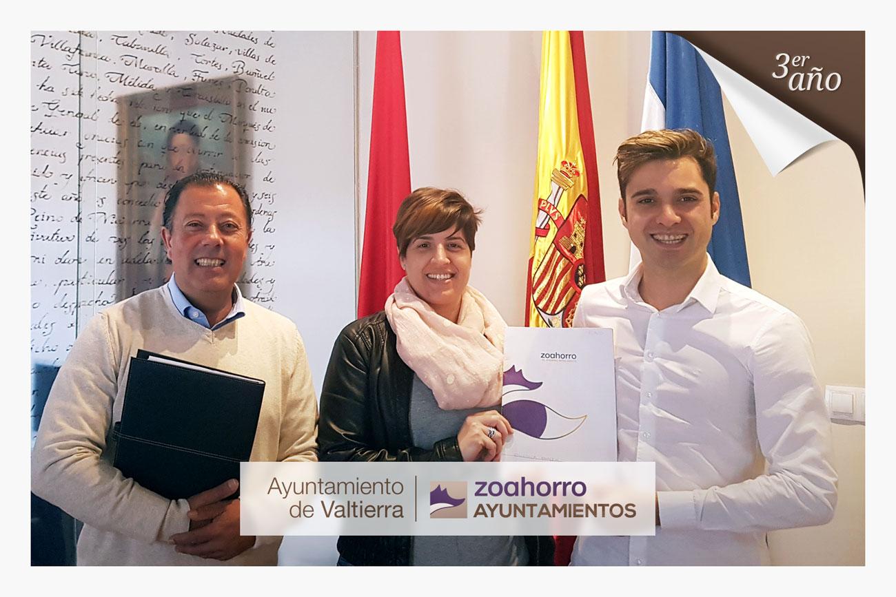 El Ayuntamiento de Valtierra renueva por tercer año con nosotros