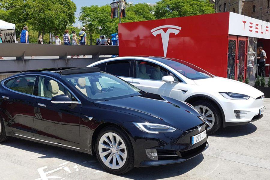 La primera tienda Tesla en España