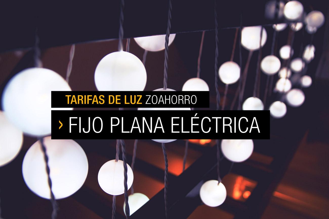 Nuestra tarifa Fijo Plana Eléctrica