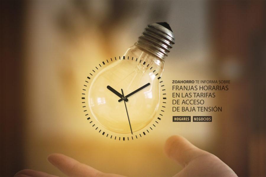 Ahorra en luz con discrimanción horaria