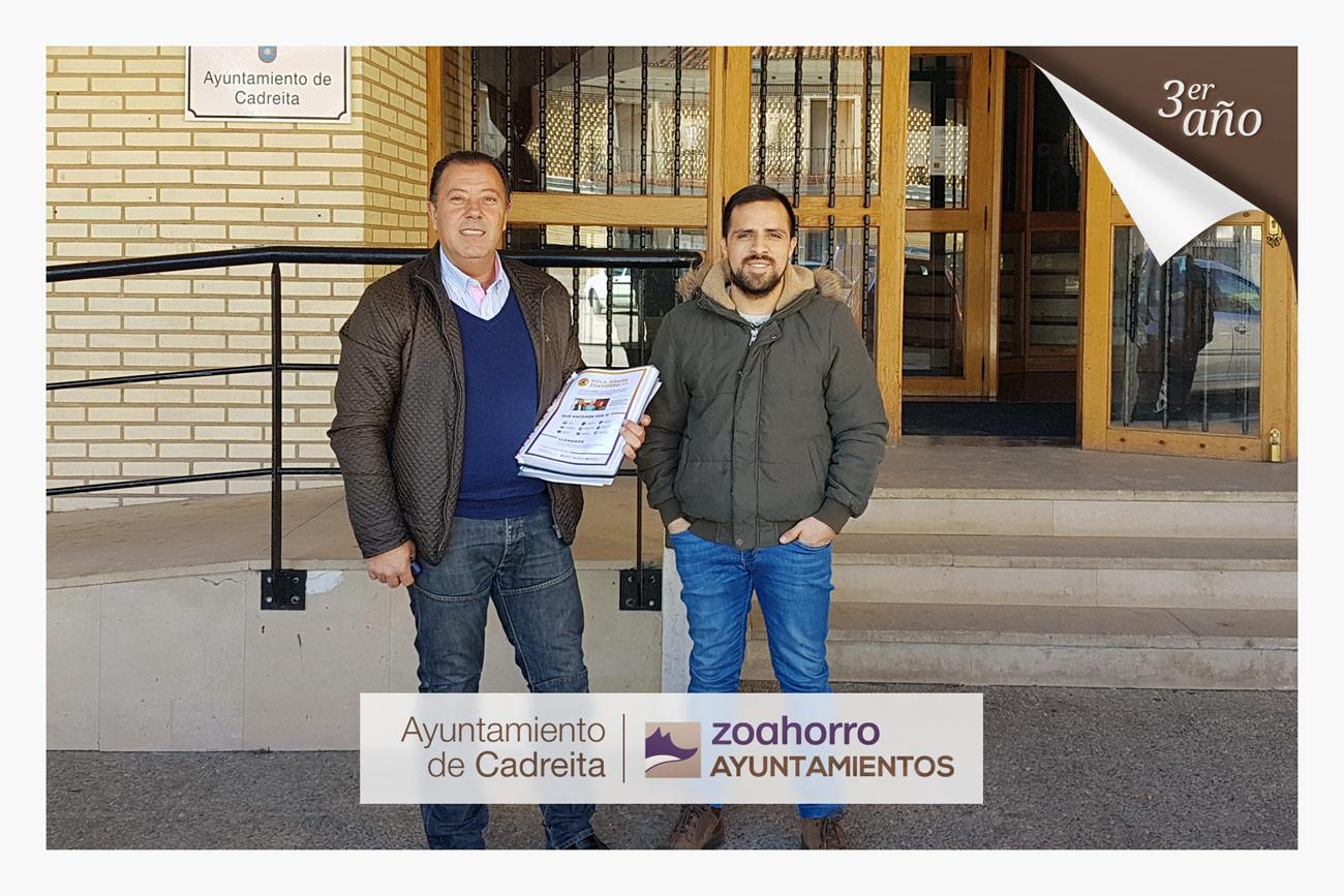 El Ayuntamiento de Cadreita renueva por tercer año con nosotros
