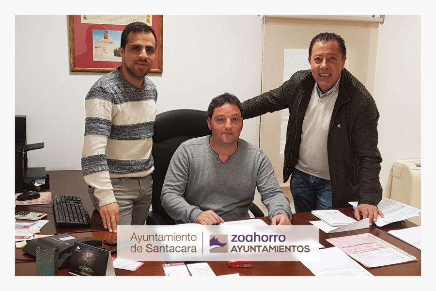 Hemos firmado con el Ayuntamiento de Santacara