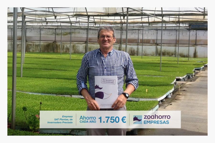 SAT Plantas de Invernadero Preciado nos elige como su asesoría energética