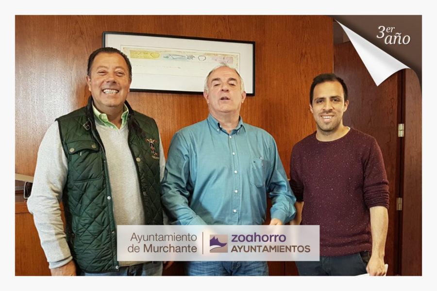 El Ayuntamiento de Murchante renueva por tercer año con nosotros