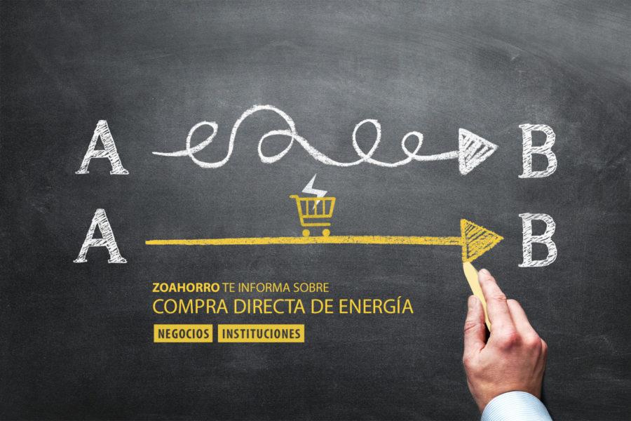 ¿Es factible comprar la energía directamente?